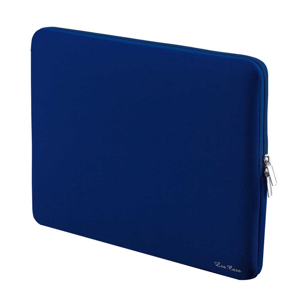 """1 adet 14 inç Laptop çantası Fermuar Yumuşak Kol Çantası 14 """"Ultrabook Dizüstü Dizüstü Taşınabilir Kılıfları Tutucu Yeni Satış"""