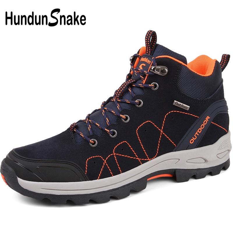 Hundunsnake haute hommes randonnée bottes suivi chaussures de plein air hommes Trekking bottes homme montagne bottes Trekking chaussures hommes baskets T537