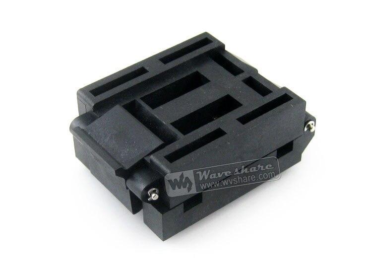 module IC51-0804-956-2 IC51-0804-956 Yamaichi IC Test Socket 0.65mm Pitch QFP80 TQFP80 FQFP80 PQFP80 package