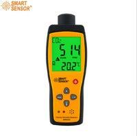 Detector Portátil de Gás Dióxido De carbono CO2 Detectores 0-5000PPM