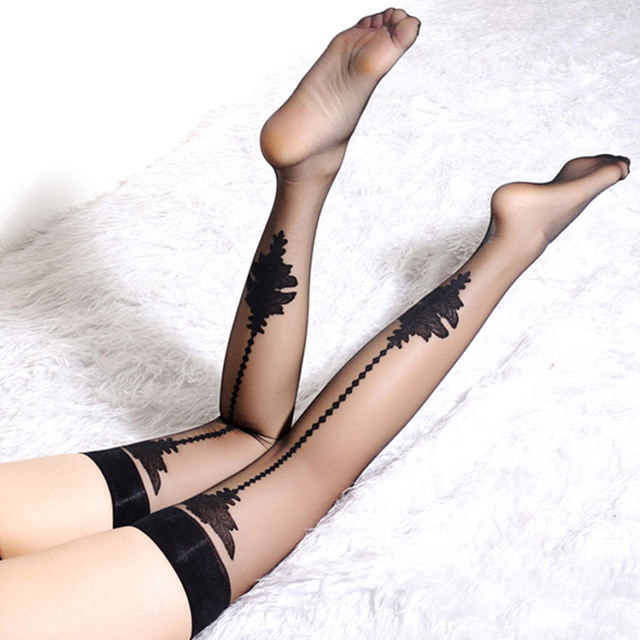 Hss Brand Club Sexy Women Girls Lady Slim Stockings Lace Stockings Cored Wire Tall Women Slip
