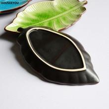Banana Leaf Shape, Leaf Dish, Ceramic Dishes, Ice Crack Glaze, Lovely, Sushi Dishes, Tableware,flatware, Small Plate