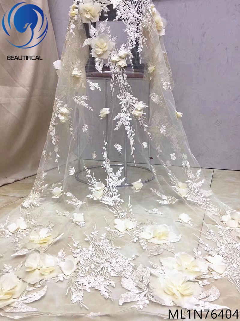 BEAUTIFICAL latest 3d lace fabrics 3d lace fabric 3d laces african fabrics 5yards/piece materials for big occasion ML1N764BEAUTIFICAL latest 3d lace fabrics 3d lace fabric 3d laces african fabrics 5yards/piece materials for big occasion ML1N764