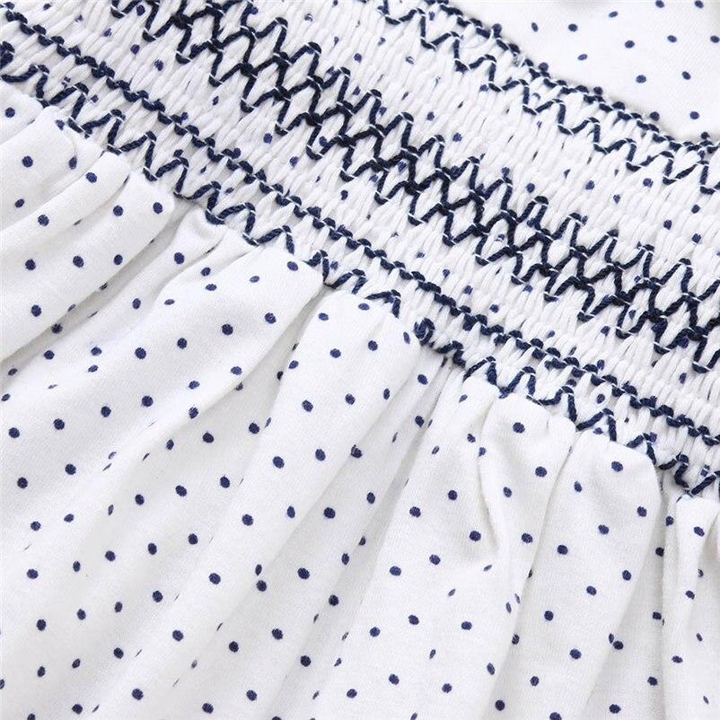 mini dot pattern baby girls dress fashionable long sleeve dress for toddler girls lovely princess conjunto menina 4OT1 (10)