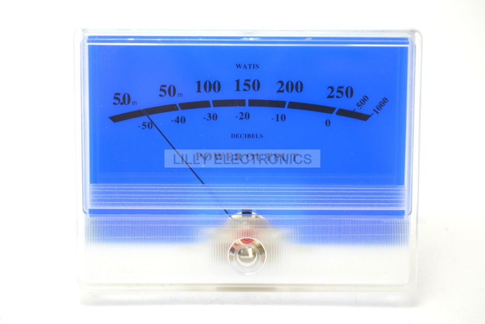 Panel VU Meter DB Level Header Blue lake Amplifier chassis Audio Level meter цены
