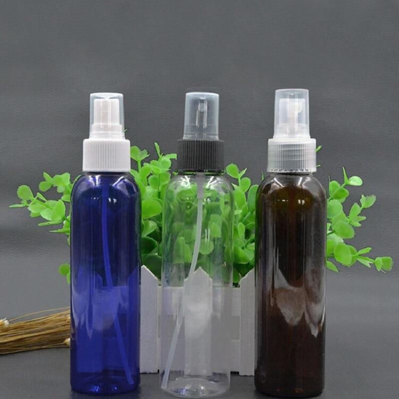 150ml blue clear amber Plastic Spray Bottles with white black Fine Mist Sprayer Toner spray refillable bottles home reuse все цены