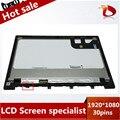 """(1920*1080) 13.3 """"Full HD Для Asus Zenbook UX303 UX303LA DB51T ЖК LED Дисплей Сенсорный Экран в Сборе С Рамкой кадра 30 pins"""