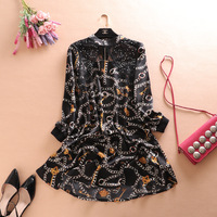 2018 Sale Zanzea Dresses Collar Hollow Out Elegant Long Sleeve Lace Minus Age Show Thin Material