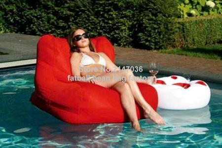 High Quality Red Outdoor Waterproof Bean Bag Chair, External Beanbag Seat Furniture In  Your Pool In Garden Sofas From Furniture On Aliexpress.com | Alibaba Group Part 18