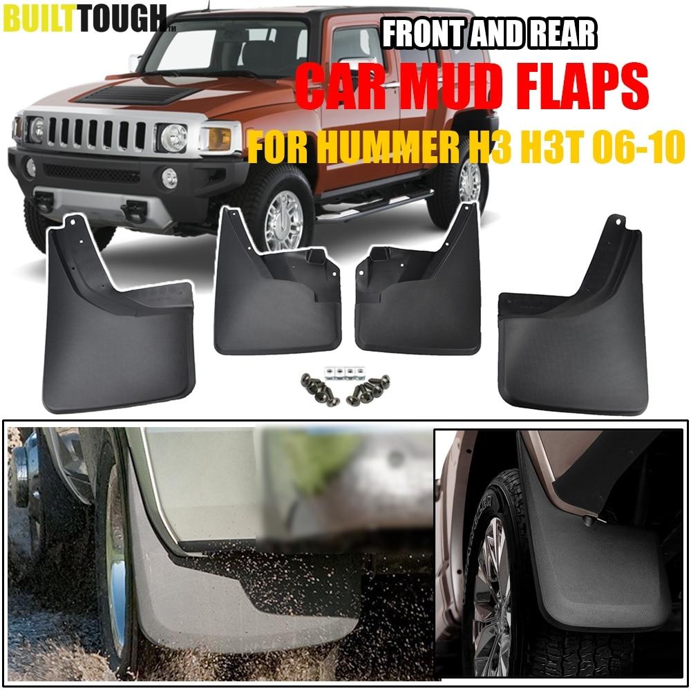 Car Mudflaps For Hummer H3 H3T 2006 2010 Mud Flaps Splash Guards Mudguards Mud Flap Front