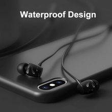 купить CSR Wireless Bluetooth Sports Earphone IPX5 Waterproof 48H Music Wireless Headphone with Microphone Neckband Headset онлайн
