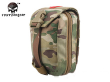 Emersongear Military First Aid Kit Medic Pouch Molle Military Airsoft Painball Combat Gear EM6368 Multicam Black
