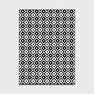 Image 4 - Nórdico INS moda geométrica simples esteiras casa de cabeceira quarto entrada elevador tapete sofá mesa de café tapete anti derrapante