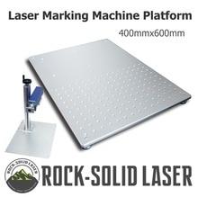 Aluminum Working Platform 400*600mm Worktable Laser Marking Machine DIY Part Fiber CO2 Engraving Wholesale