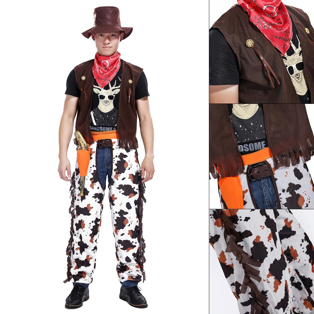 Stylish Couples Family Costumes Set Holiday Halloween Adult Menu0027s Womenu0027s Costumes Party Cosplay Western Style Cowboy Cowgirl-in Movie u0026 TV costumes from ...  sc 1 st  AliExpress.com & Stylish Couples Family Costumes Set Holiday Halloween Adult Menu0027s ...