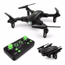77-27 Мини Складная Радиоуправляемый Дрон Quadcopters 2,4 ГГц 6 оси гироскопа высота Удержание вертолет дети лучший игрушки для мальчиков