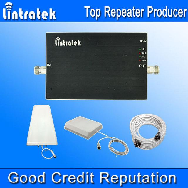 Nova Chegada GSM Repetidor 900 1800 Amplificador de potência GSM 900 Lintratek DCS 1800 mhz Sinal de Reforço Dual Band Kits Completos atacado