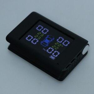 Image 3 - Auto Tpms Auto Bandenspanningscontrolesysteem 4 Stuks Interne Externe Sensoren Alarm Universele Voor Toyota Honda Nissan Vw Ford