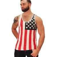 2015 Fashion New Summer Style Gym Plain Tank Top Mens Bodybuilding Stringer Blank Vest Fitness Shirt
