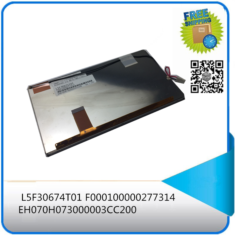 ( with track number ) LCD display panel For L5F30674T01 F000100000277314 EH070H073000003CC200
