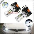 2 unids H15 Xenon Blanco de Alta Potencia LED de Samsung 2835-SMD LED Bombillas Para Audi BMW Mercedes Volkswagen Diurna luces