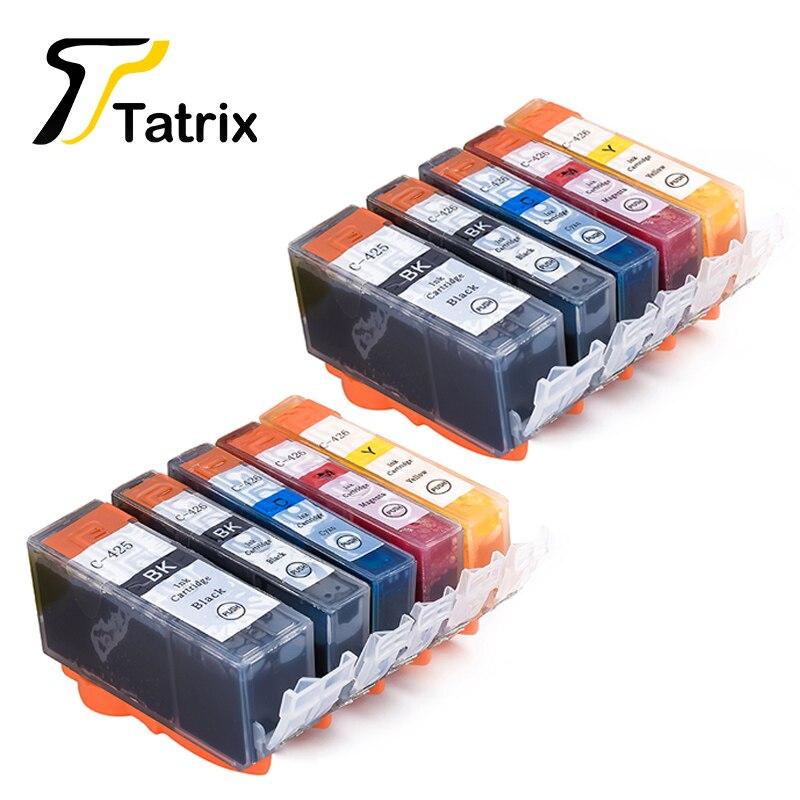 10 STÜCKE Für Canon 425 426 PGI-425 CLI-426 tintenpatrone Für Canon PIXMA Patronen IP4840/IP4940/IX6540/MG5140/5240/5340 Drucker