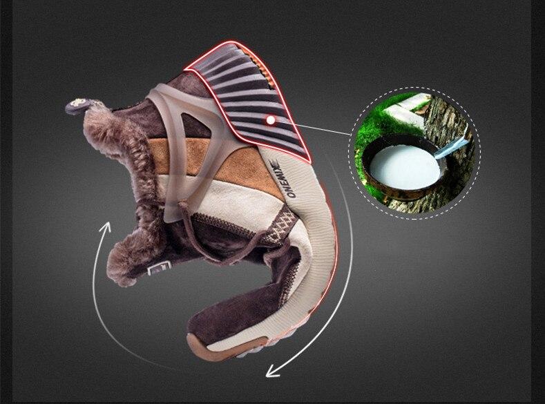 onemix New Waterproof Snow Boots Women Sneaker Men Trainers Walking Outdoor Athletic Comfortable Warm Wool Running Shoes Hotsell 10
