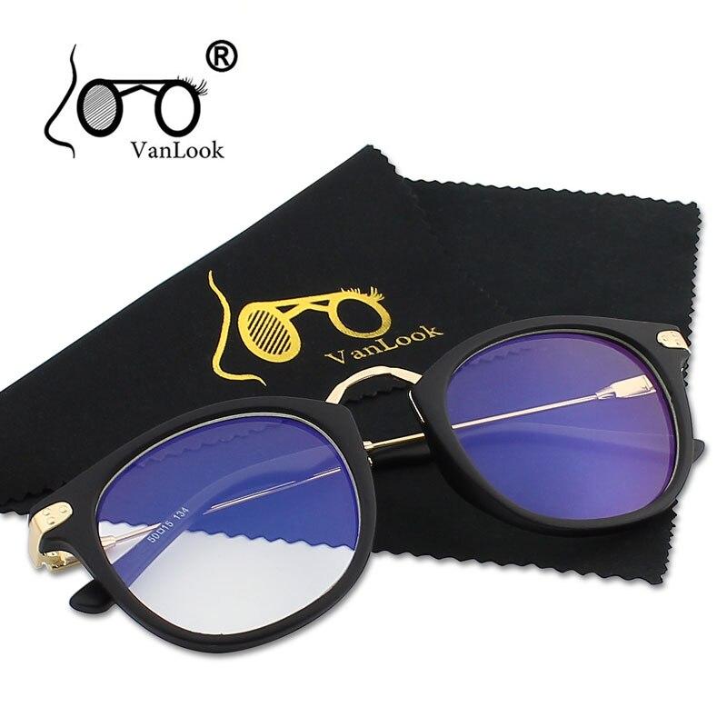 Brýle pro práci s počítačem Dámské muži Transparentní brýle Módní brýle Oculos De Grau Female Anti Blue Ray nátěr