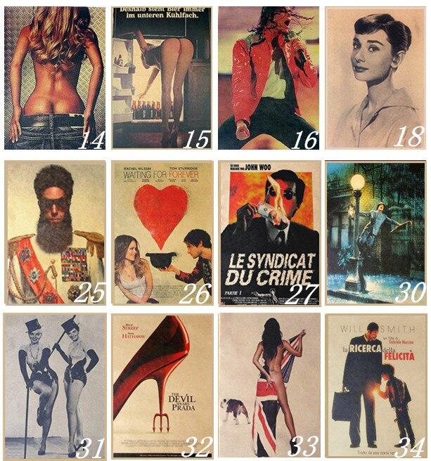 Постеры в ретро-стиле | Aliexpress