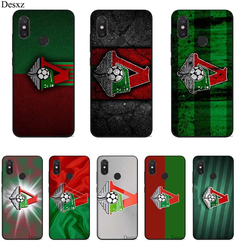 Desxz Silicone Mobile Phone Case For Redmi Note 4 4X 5A 5 6 7 Pro Prime Cover Moscow Football Club Logo Bag Shell