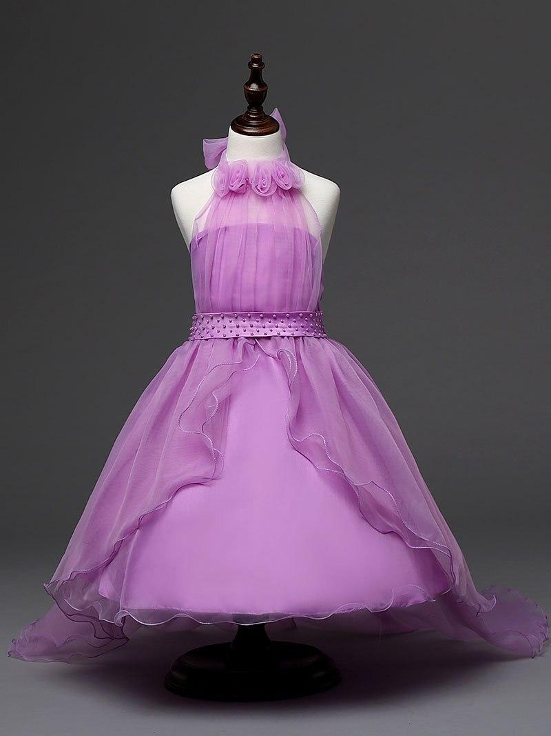 5 6 7 8 9 10 11 12 13 Christmas Kids Girl Dress Cute Bow