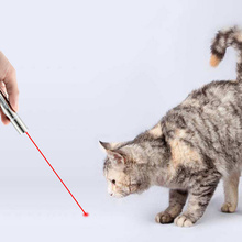 Interactive Pointer Toys Pet Cat Command Light Training Tools with UV Light USB Charging DC120