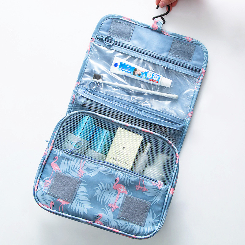 Women's Men's Hanging Cosmetic Bag Travel Organizer Necessarie Portable Toiletry Storage Tote Makeup Vanity Beauty Cases Product цена