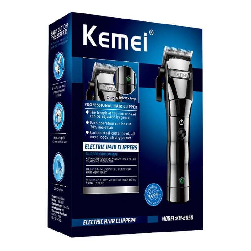 Image 3 - cord/cordless hair clipper professional electric hair trimmer barber adjustable hair cutting machine men hair cutter home salon-in Hair Clippers from Home Appliances