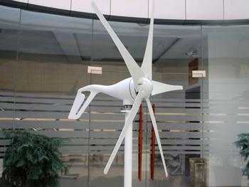 400 W 12 V 24 V magnes stały Generator turbiny wiatrowej 3 5 ostrza opcjonalne zestawy generatorów wiatrowych tanie i dobre opinie FT-400 iron Generator energii wiatru Z Podstawy Montażowej