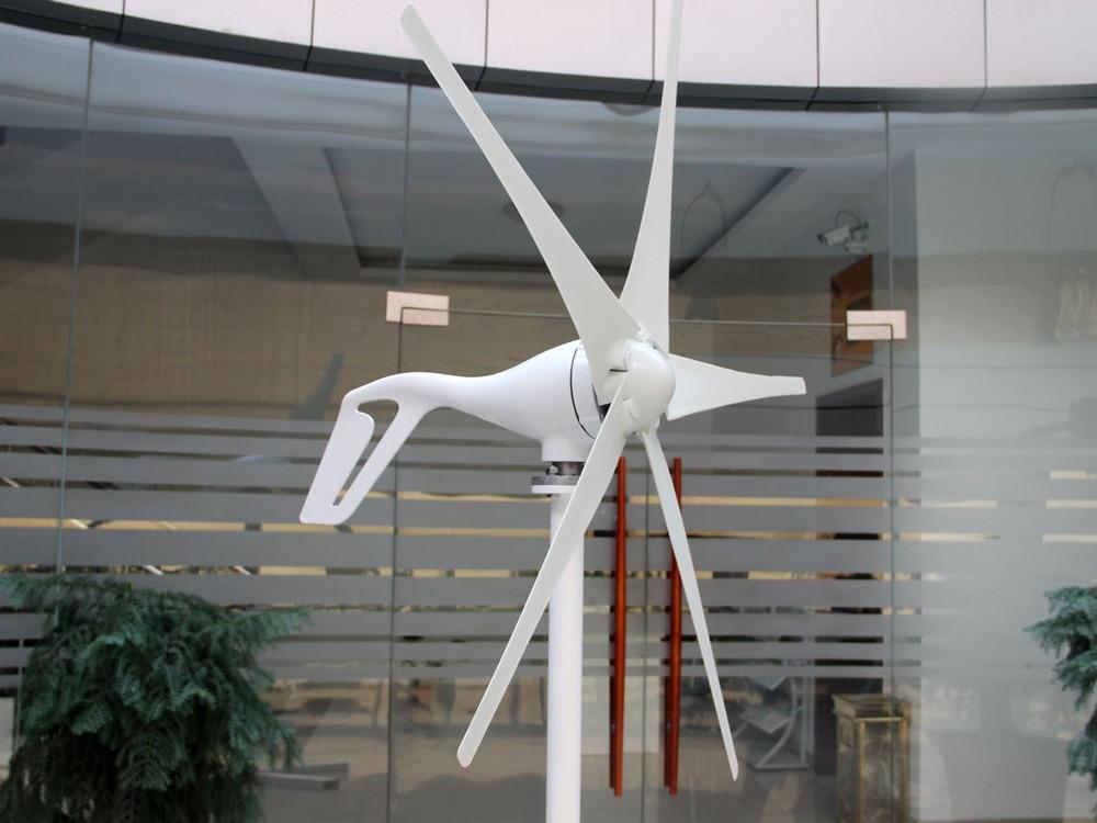 400W 12V/24V Permanent Magnet Wind Turbine Generator 3/5 Blades Optional Wind Generator Kits