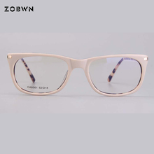 Di modo di Alta qualità occhiali telaio per computer Da Vista miopia Donne Occhiali Occhiali Da Vista Occhiali Kaki rotonda Occhiali occhio di gatto