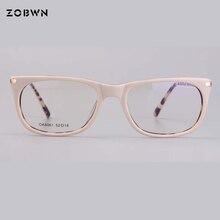Fashion High quality glasses frame for computer Prescription myopia Women Glasses Eyeglasses Goggles Khaki round eyewear cat eye