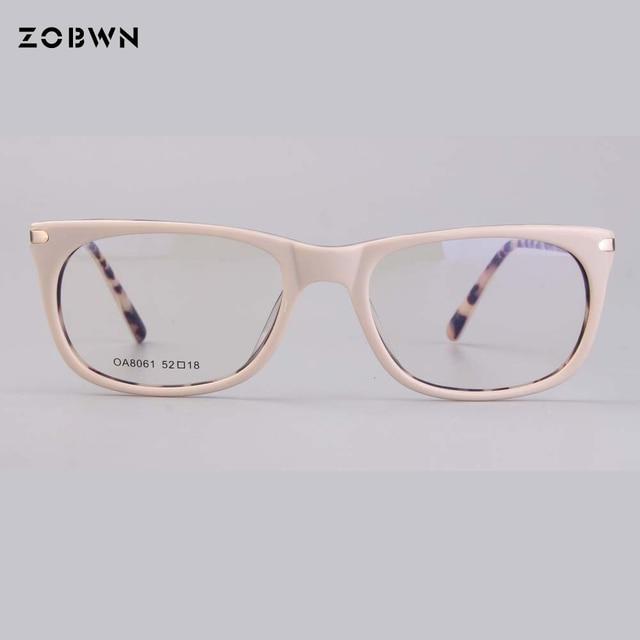 แฟชั่นคุณภาพสูงกรอบแว่นตาคอมพิวเตอร์ Prescription สายตาสั้นแว่นตาแว่นตาแว่นตาสีกากีรอบแว่นตา cat eye