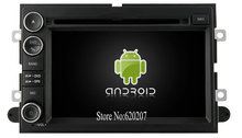 S160 Android 4.4.4 CAR DVD player FOR FORD Explorer/Fusion car audio stereo Multimedia GPS Quad-Core