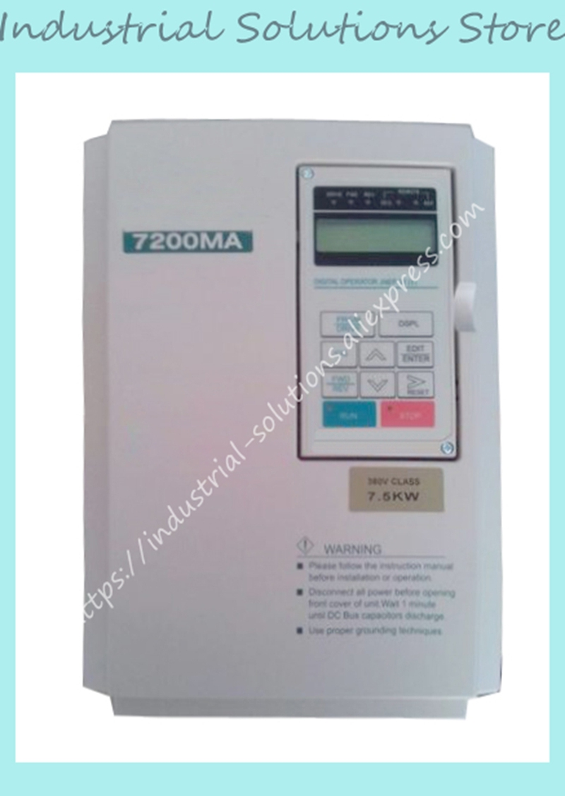 New 7200MA Frequency Converter 220v 1.5kw 0.75KW 1HP 380V 400Hz 7200MA sv008igxa 4 frequency converter 0 75kw 3phase 380v new