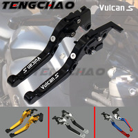 For KAWASAKI VN 650 VULCAN S VN650 VULCANS 2015 2016 2017 Motorcycle Accessories Folding Extendable Brake Clutch Levers