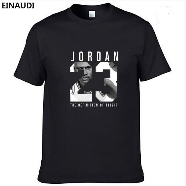 EINAUDI Top Trend Man Jordan T Shirt High-Grade Short Sleeves Cotton Man  Tee Hip-hop Freestyle Loose Fashion T-shirts XS-XXL Men da24590a831c