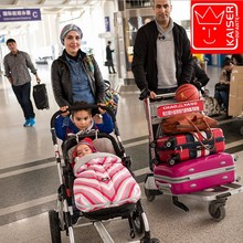 Hot 2016 New Rushed baby Sleeping Bag, Baby Stroller Sleeping Bag Winter Warm Envelope For Pram / Oxford footmuff for wheelchair
