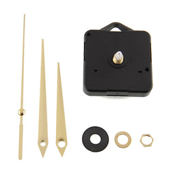 Quality Clock Movement Mechanism Parts DIY Tool with Gold Hands Quiet Silence Movement Clock Parts Accessories Deco Tools