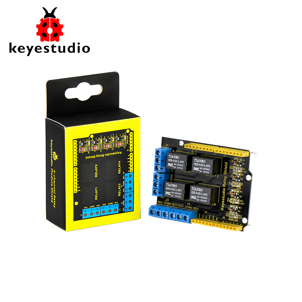 Keyestudio Sim900 Gsm Gprs Module Shields For Arduino Uno And Mega Simple Relay Shield Use Projects 4 Channel 5v R3