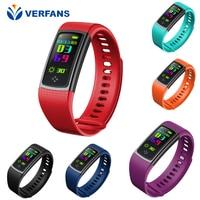 VERFANS S9 Smart Bracelet Heart Rate Sports Blood Pressure Bracelet Waterproof Pedometer Multi Sport Mode Exercise