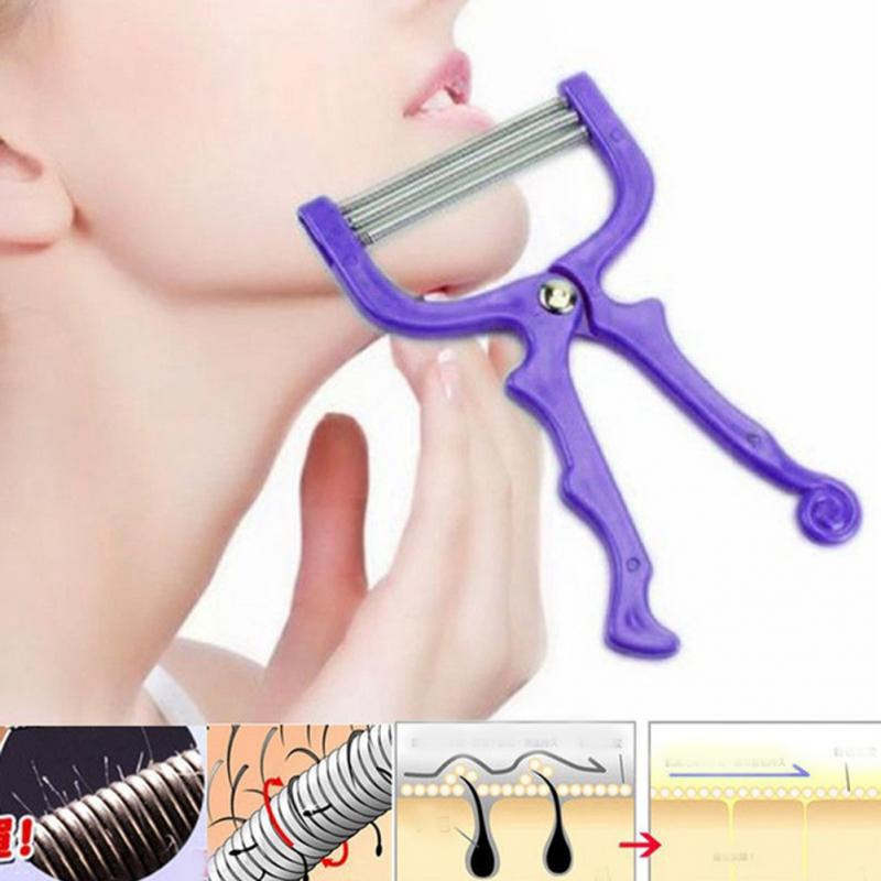 Face Hair Remover Tool Face Beauty Spring Threading Removal Epilator Hair Removal Cream Safe Face Epilator Hair Shaving Tool