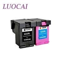 LuoCai Compatible ink cartridges For HP121 For HP 121 photosmart c4683 C4783 Deskjet D2563 D1663 D2663 F2530 F2545 F2560 printer