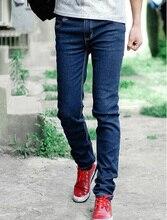 Тесная Slim Fit мужская Джинсы Брюки Классические Простой Человек Джинсы брюки Новый Стиль Высокое Качество Хлопка Мужчин брюки Размер 28-34